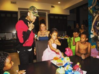 Chris Brown y su hija