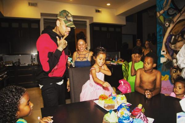 Fotos: Chris Brown celebra en grande el cumple de su hija