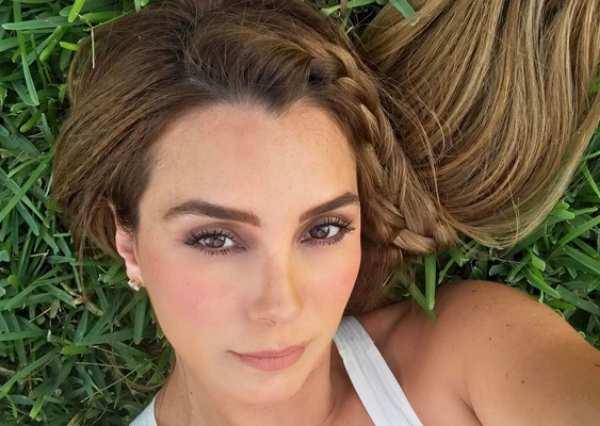 Elizabeth Gutiérrez explica la cabellera rubia de su hijo