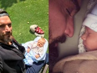 Julián Gil y su hijo Matías
