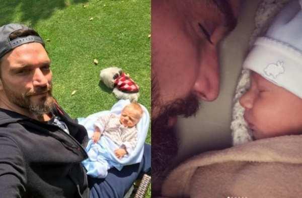 Julián Gil viaja a México para estar una hora con su hijo Matías