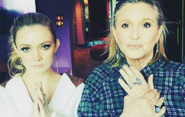 Billie Lourd / Carrie Fisher