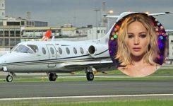 Jennifer Lawrence pasó el susto de su vida en un avión