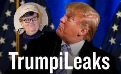 Michael Moore lanza TrumpiLeaks para denuncias contra Donald Trump
