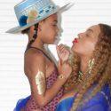Beyonce con su hija Blue Ivy