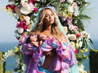 Beyoncé y sus gemelos