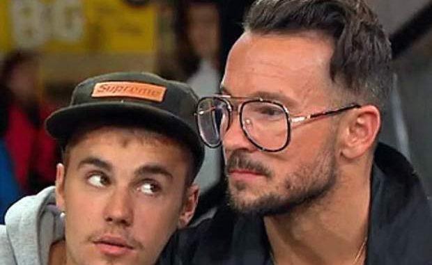 ¿Es Justin Bieber besando a su pastor?