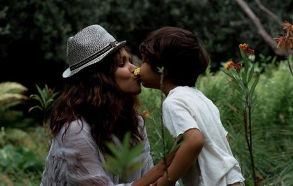 Halle Berry y su hijo Maceo
