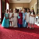 Festejando en el Palacio de Buckingham