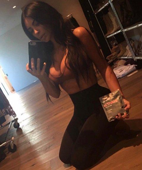 La nueva moda de Kim Kardashian
