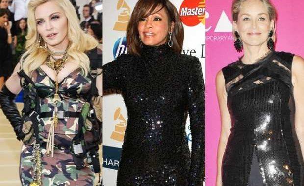 Madonna / Whitney Houston / Sharon Stone