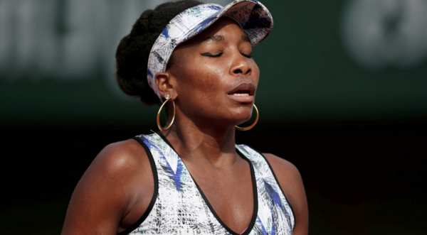 Venus Williams, libre de cargos tras fatal accidente automovilístico