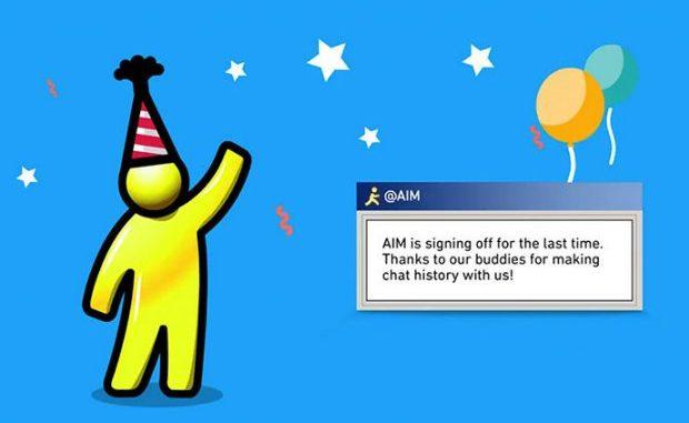 AOL dice adiós a su servicio de mensajería instantánea