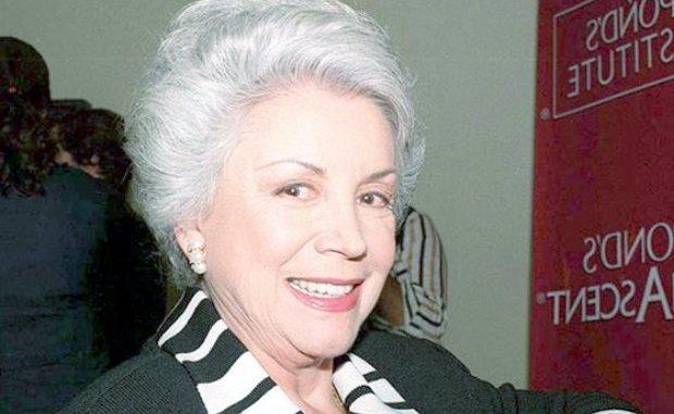 Falleció Evangelina Elizondo,