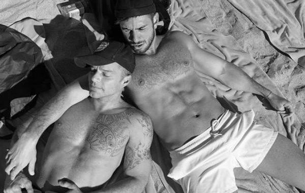 Instagram: Novio de Ricky Martin presume su relación en la playa [FOTOS]