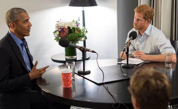El príncipe Enrique entrevista a Barack Obama por radio