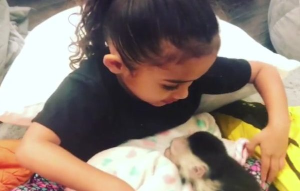 Polémica por regalo que le dio Chris Brown a su hija — Instagram