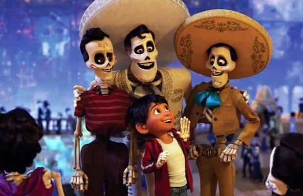 """Coco"" gana el Golden Globe a mejor película animada"