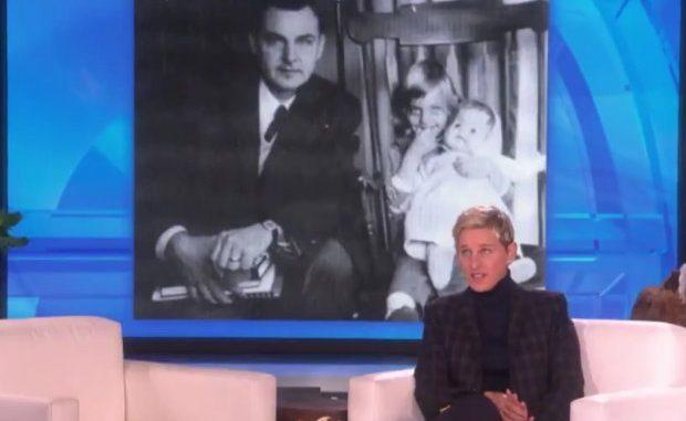Ellen DeGeneres se despide de su padre con emotivo mensaje