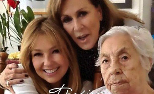 Abuela de Thalía cumple 100 años de edad