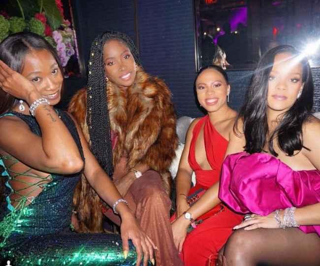 Fiesta de cumpleaños de Rihanna