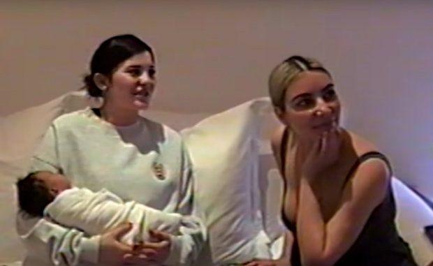 158ea2e17 Video  Kylie Jenner publica video de sus 9 meses de embarazo