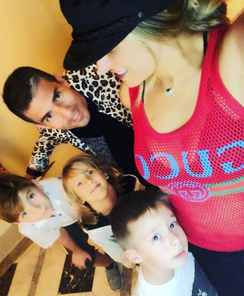 Vacaciones – Galilea Montijo con su familia en Los Ángeles