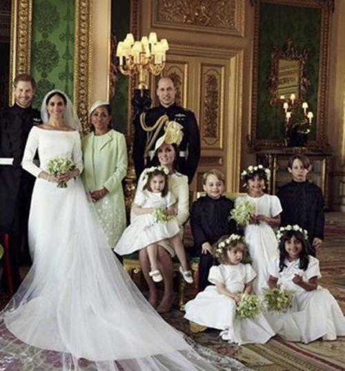 Fotos oficiales de la boda de Harry y Meghan