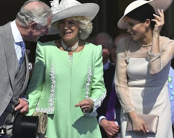 Meghan Markle en su primer compromiso como Duquesa de Sussex