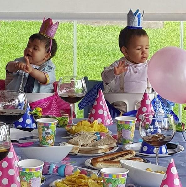 Fiesta de cumpleaños de los gemelos de Cristiano Ronaldo