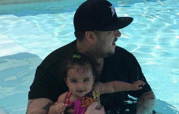 Niegan a Rob Kardashian pedido de custodia primaria de su hija Dream