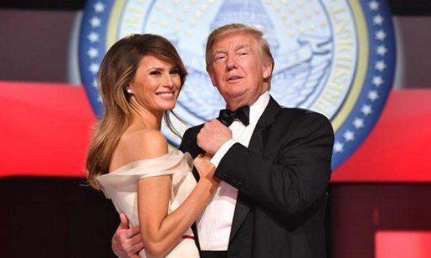 Donald Trump y su esposa Melania encabezan las ...