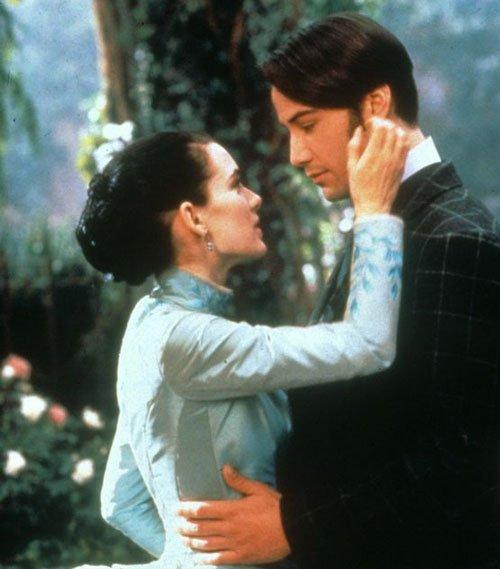 Reeves y Ryder en Drácula