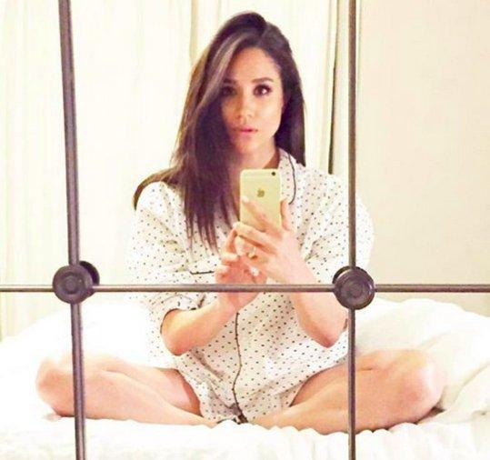 Meghan Markle : Una selfie muy provocativa