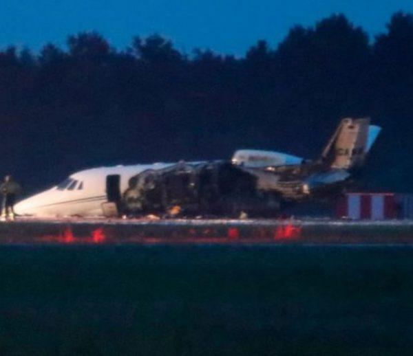 Cessna donde se accidentó Staff de Pink