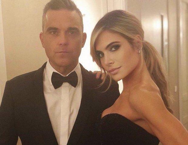 Robbie Williams y Ayda Field dan la bienvenida a su cuarto hijo