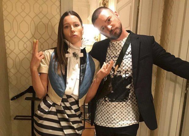 Justin Timberlake y Jessica Biel toman en serio el aislamiento social