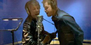 El príncipe Harry y Jon Bon Jovi graban tema en los famosos Abbey Road Studios