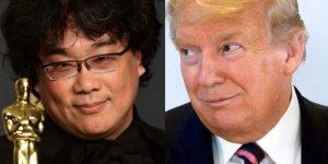 Donald Trump arremete en contra de película 'Parasite' y de Brad Pitt