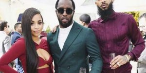 Modelo Lauren London descarta romance con 'Diddy' Combs