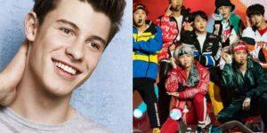 Shawn Mendes tendrá colaboración con la banda de K-pop BTS