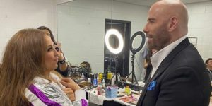 Thalía conoce a su 'crush' de la adolescencia gracias a Tommy Mottola