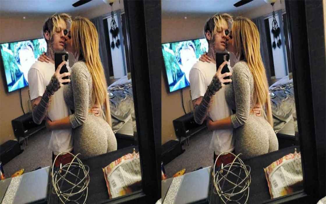 Ex novia de Aaron Carter es arrestada por agredir al cantante