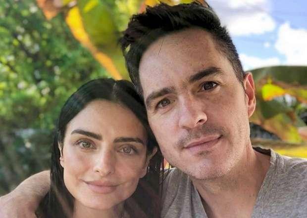 Fans de Aislinn Derbez y Mauricio Ochmann dicen que la pareja se reconcilió