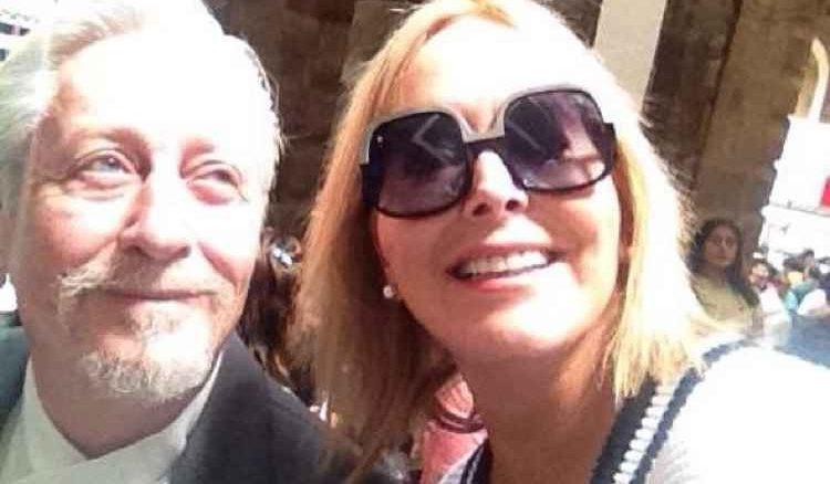 Margarita Gralia y su esposo Ariel Bianco están hospitalizados tras dar positivo al Covid-19