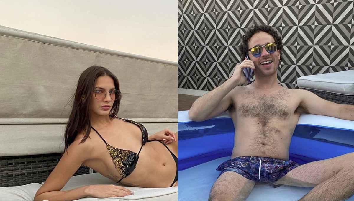Luisito Comunica disfruta su cuarentena acompañado de una bella modelo