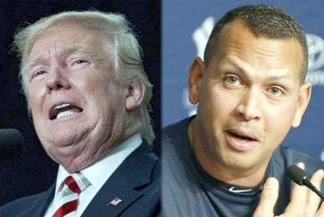 "Aseguran que Donald Trump llamó a Alex Rodríguez para ""pedirle consejos"" sobre crisis del coronavirus"