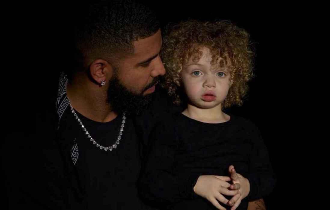 Drake comparte la primer fotografía junto con su hijo Adonis