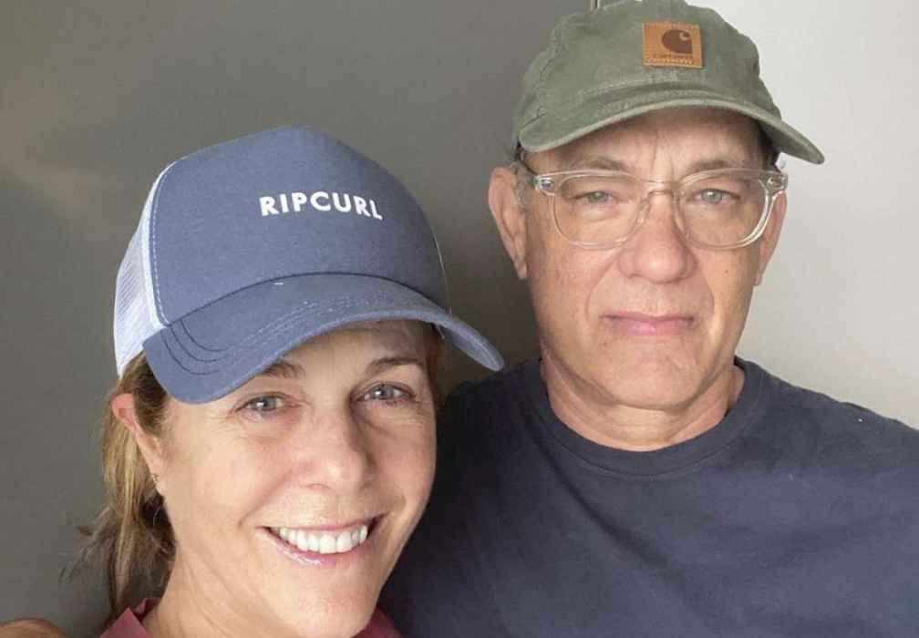 Tom Hanks y Rita Wilson en aislamiento tras regresar a Los Angeles