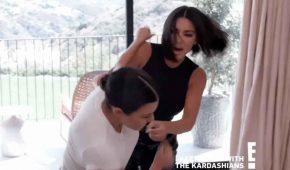 Kourtney Kardashian dejó sangrando a Kim tras pelea en relaity show